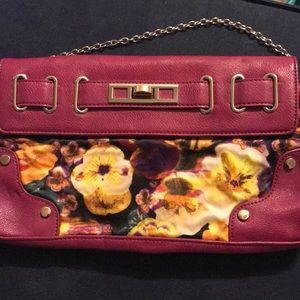 Aldo magenta purse